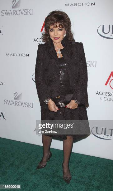 Actress Joan Collins attends the 17th annual ACE Awards at Cipriani 42nd Street on November 4 2013 in New York City