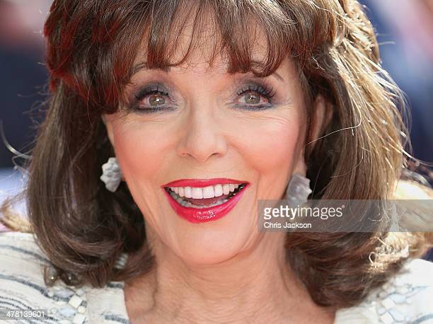 Actress Joan Collins attends the Prince's Trust Samsung Celebrate Success awards at Odeon Leicester Square on March 12 2014 in London England