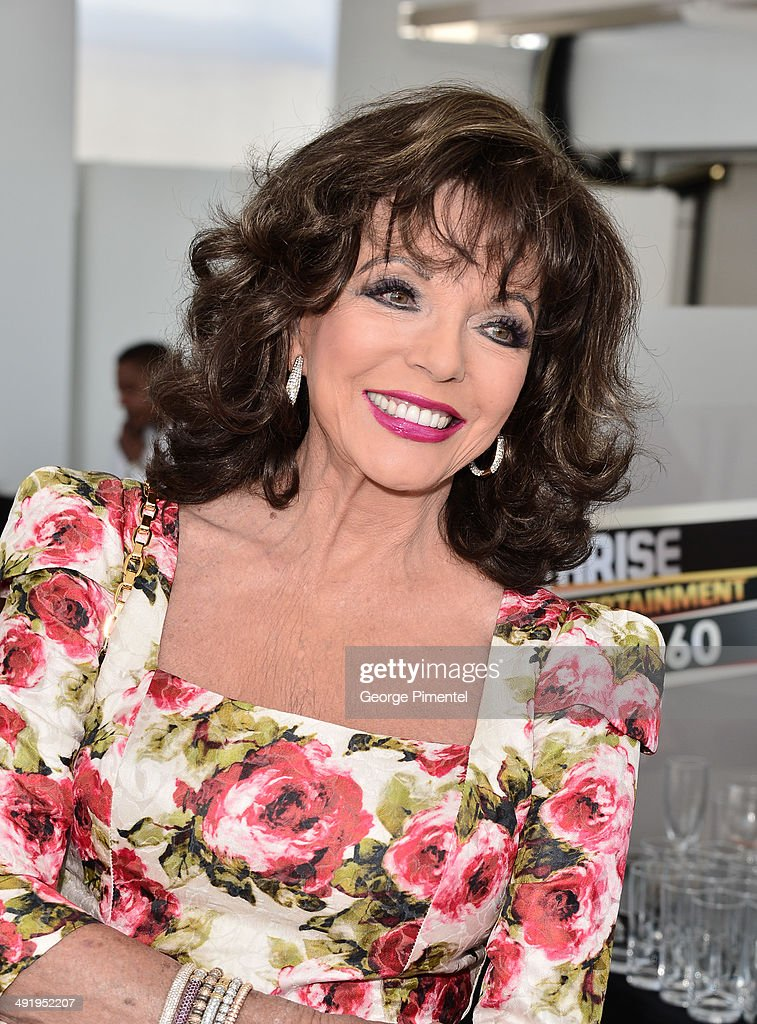 Actress Joan Collins attends 'The Time of Their Lives' photocall at the 67th Annual Cannes Film Festival on May 18, 2014 in Cannes, France.