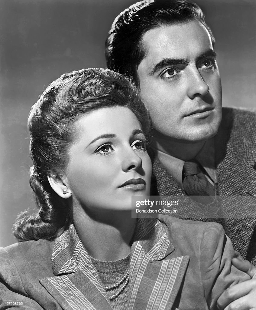 Actress <a gi-track='captionPersonalityLinkClicked' href=/galleries/search?phrase=Joan+Fontaine&family=editorial&specificpeople=206434 ng-click='$event.stopPropagation()'>Joan Fontaine</a> and <a gi-track='captionPersonalityLinkClicked' href=/galleries/search?phrase=Tyrone+Power&family=editorial&specificpeople=94168 ng-click='$event.stopPropagation()'>Tyrone Power</a> pose for a portrait for the movie 'This Above All' released in 1942.