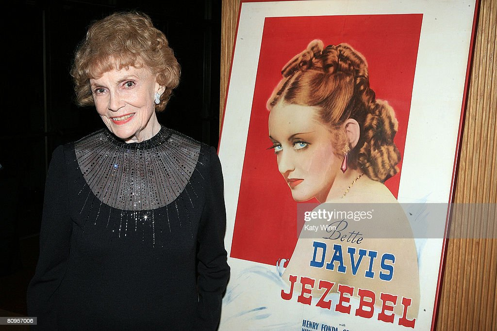 Actress Joan Leslie attends the AMPAS presentation of 'A Centennial Tribute to Bette Davis' May 1, 2008 in Los Angeles, California.