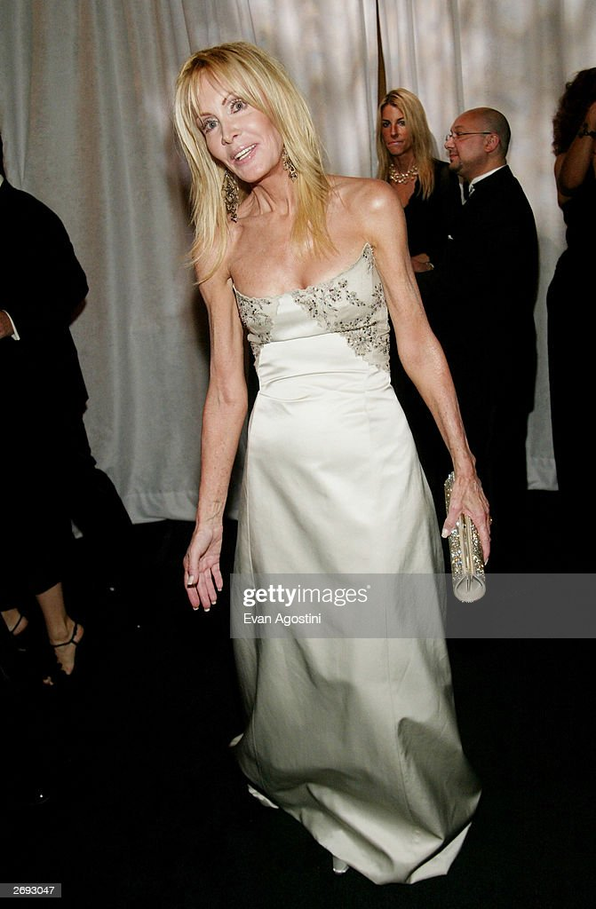 Actress Joan Van Ark attends the cocktail party for the 'CBS at 75' television gala at the Hammerstein Ballroom November 2, 2003 in New York City.
