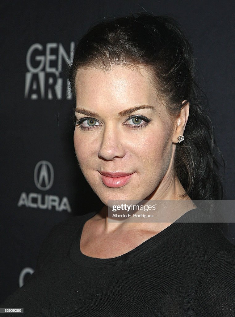 Actress Joanie 'Chyna' Laurer arrives at the premiere of Samuel Goldwyn Films' 'Dark Streets' held at the Arclight Theaters on December 3 2008 in...