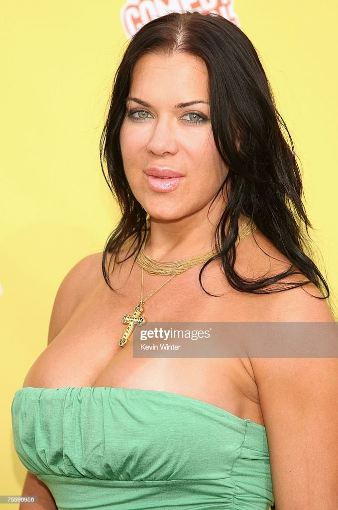 Actress Joanie Laurer aka Chyna arrives at the Comedy Central Roast of Flavor Flav at Warner Bros Studio Lot Stage 23 on July 22 2007 in Burbank...