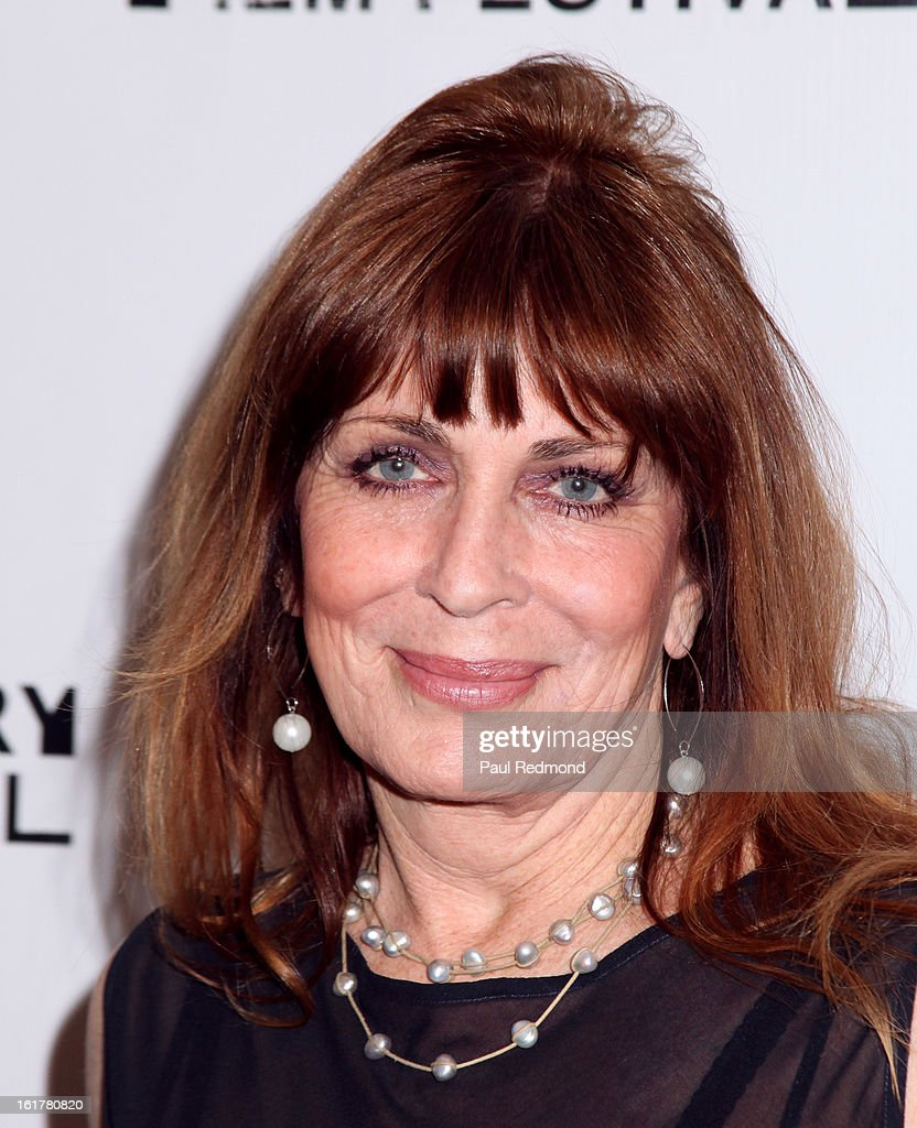 Actress Joanna Cassidy arrives at Writers In Treatment's 4th Annual Experience, Strength And Hope Awards at Skirball Cultural Center on February 15, 2013 in Los Angeles, California.