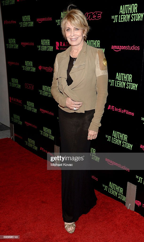 Actress Joanna Cassidy attend the Los Angeles Premiere of 'Author The JT Leroy Story' at NeueHouse Hollywood on August 25 2016 in Los Angeles...