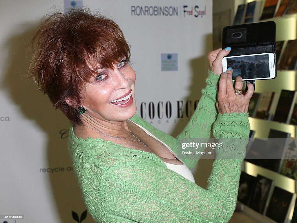 Actress <a gi-track='captionPersonalityLinkClicked' href=/galleries/search?phrase=Joanna+Cassidy&family=editorial&specificpeople=789152 ng-click='$event.stopPropagation()'>Joanna Cassidy</a> attends Coco Eco Magazine's launch of it's Earth Rocks! debut print issue at Roy Robinson at Fred Segal on June 25, 2014 in Los Angeles, California.