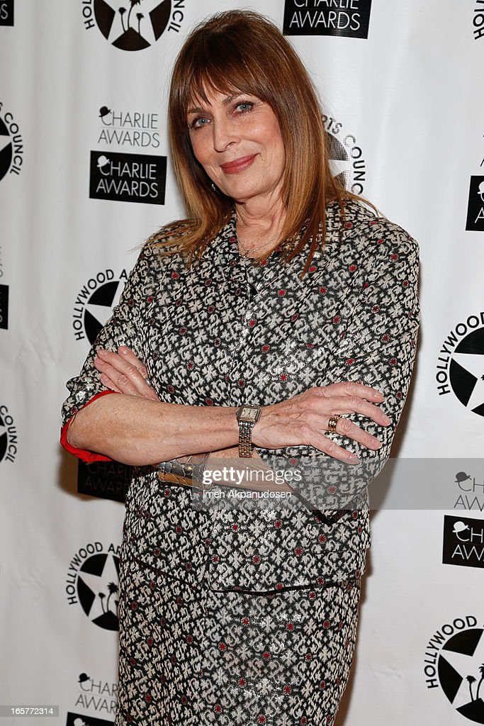 Actress Joanna Cassidy attends Hollywood Arts Council's 27th Annual Charlie Awards Luncheon at Hollywood Roosevelt Hotel on April 5, 2013 in Hollywood, California.