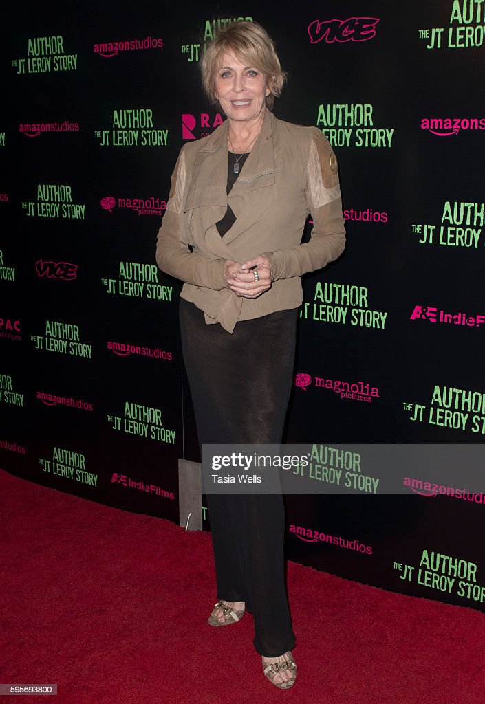 Actress Joanna Cassidy attends the premiere of Amazon Studios' 'Author The JT Leroy Story' at NeueHouse Hollywood on August 25 2016 in Los Angeles...