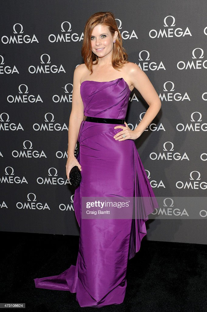 Actress Joanna Garcia attends the OMEGA Speedmaster Houston Event at Western Airways Airport Hangar on May 12, 2015 in Sugar Land, Texas.