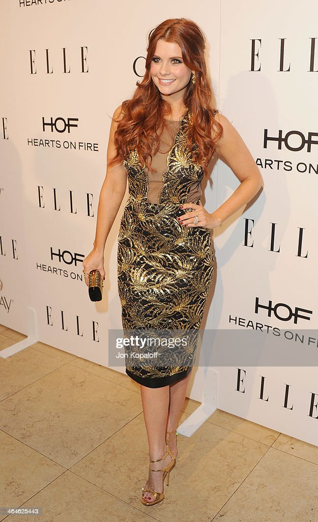 Actress JoAnna Garcia Swisher arrives at the ELLE Women In Television Celebration at Sunset Tower on January 22, 2014 in West Hollywood, California.