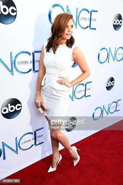 Actress JoAnna Garcia Swisher attends a screening of ABC's 'Once Upon A Time' Season 4 at the El Capitan Theatre on September 21 2014 in Hollywood...
