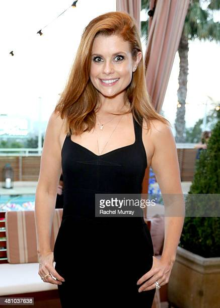 Actress Joanna Garcia Swisher attends Amazon Prime Summer Soiree hosted by Erin Foster and Sara Foster at Sunset Towers on July 16 2015 in West...