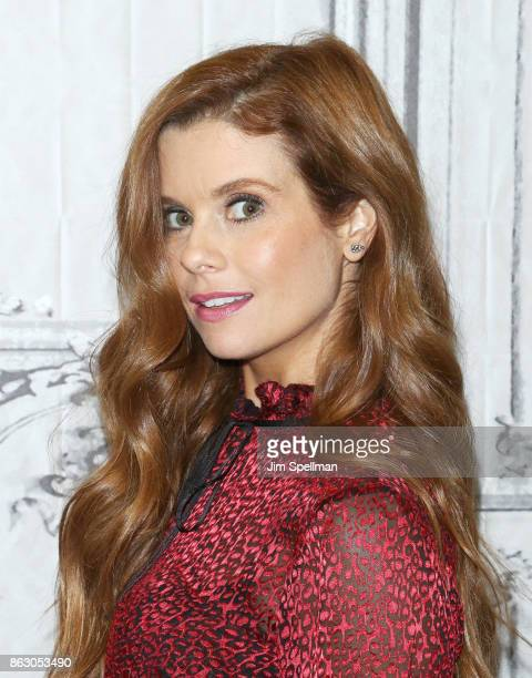 Actress JoAnna Garcia Swisher attends Build to discuss the show 'Kevin Saves The World' at Build Studio on October 19 2017 in New York City