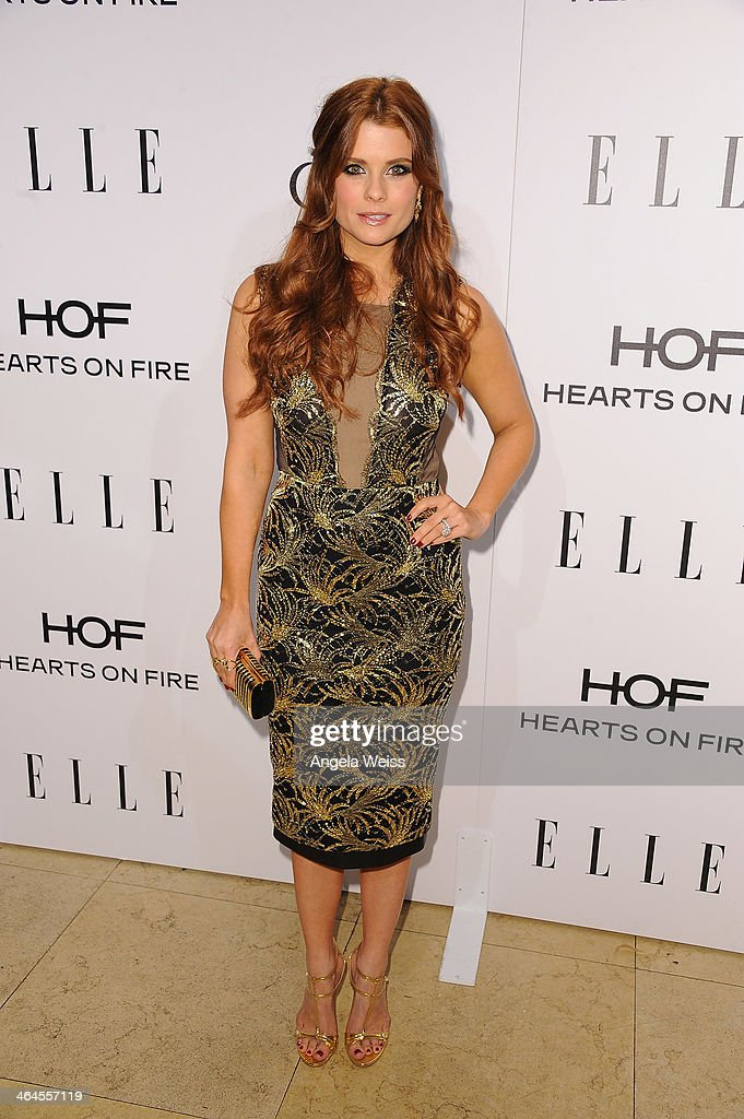 Actress JoAnna Garcia Swisher attends ELLE's Annual Women in Television Celebration at Sunset Tower on January 22, 2014 in West Hollywood, California.