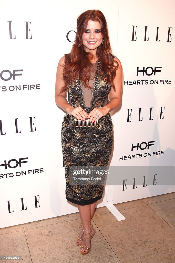 Actress JoAnna Garcia Swisher attends the ELLE Women In Television Celebration held at the Sunset Tower on January 22, 2014 in West Hollywood, California.