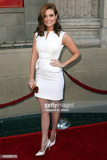 Actress JoAnna Garcia Swisher attends the Screening of ABC's 'Once Upon A Time' Season 4 at the El Capitan Theatre on September 21 2014 in Hollywood...