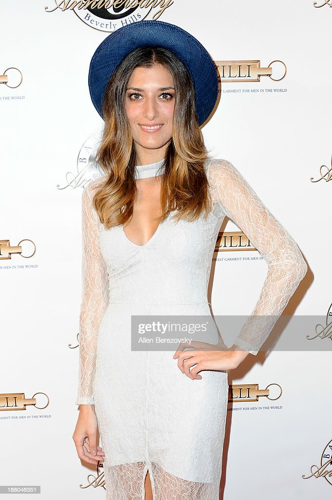Actress Joanna Janetakis attends the Battaglia's 50th Anniversary of Quality & Elegance Celebration on November 14, 2013 in Beverly Hills, California.