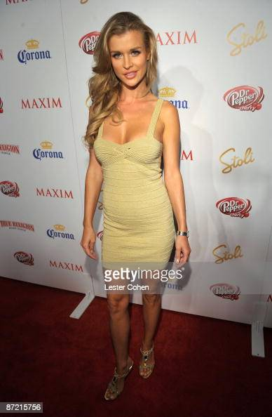Actress Joanna Krupa arrives at Maxim's 10th Annual Hot 100 Celebration Presented by Dr Pepper Cherry True Religion Brand Jeans Stolichnaya Vodka and...