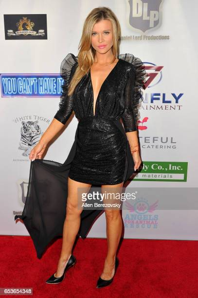 Actress Joanna Krupa attends the premiere of Skinfly Entertainment's 'You Can't Have It' at TCL Chinese Theatre on March 15 2017 in Hollywood...