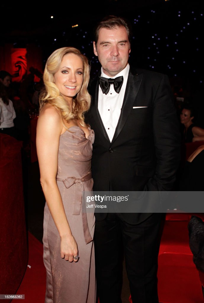 Actress <a gi-track='captionPersonalityLinkClicked' href=/galleries/search?phrase=Joanne+Froggatt&family=editorial&specificpeople=2364245 ng-click='$event.stopPropagation()'>Joanne Froggatt</a> and actor <a gi-track='captionPersonalityLinkClicked' href=/galleries/search?phrase=Brendan+Coyle&family=editorial&specificpeople=7509876 ng-click='$event.stopPropagation()'>Brendan Coyle</a> attend the 64th Primetime Emmy Awards Governors Ball at Los Angeles Convention Center on September 23, 2012 in Los Angeles, California.