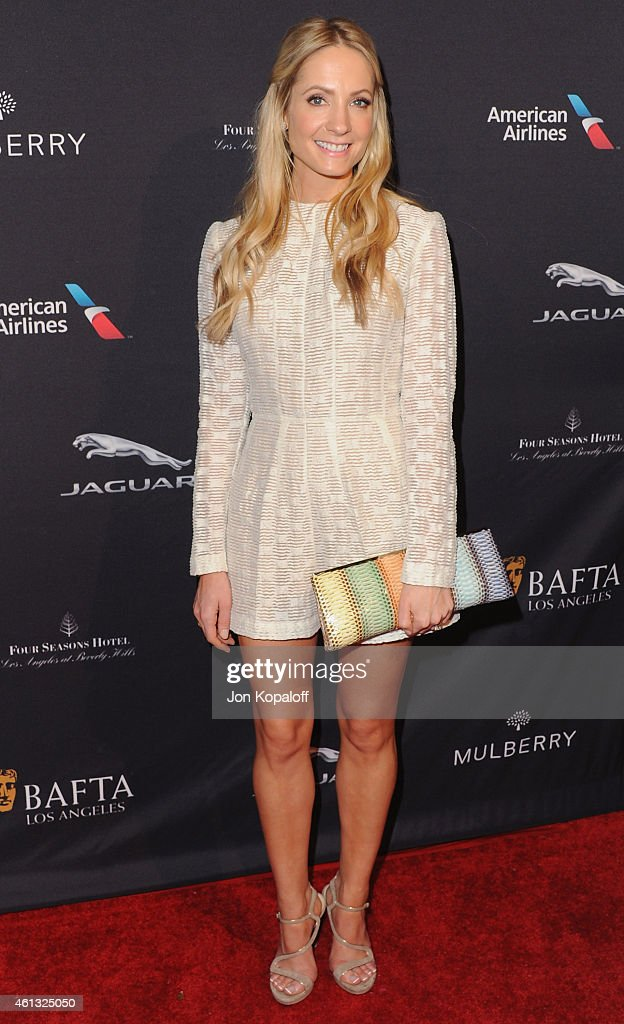 Actress Joanne Froggatt arrives at the 2015 BAFTA Tea Party at The Four Seasons Hotel on January 10 2015 in Beverly Hills California