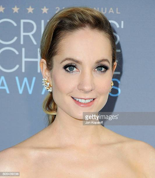 Actress Joanne Froggatt arrives at The 21st Annual Critics' Choice Awards at Barker Hangar on January 17 2016 in Santa Monica California