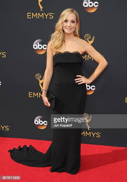 Actress Joanne Froggatt arrives at the 68th Annual Primetime Emmy Awards at Microsoft Theater on September 18 2016 in Los Angeles California