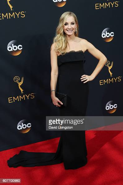 Actress Joanne Froggatt arrives at the 68th Annual Primetime Emmy Awards at the Microsoft Theater on September 18 2016 in Los Angeles California