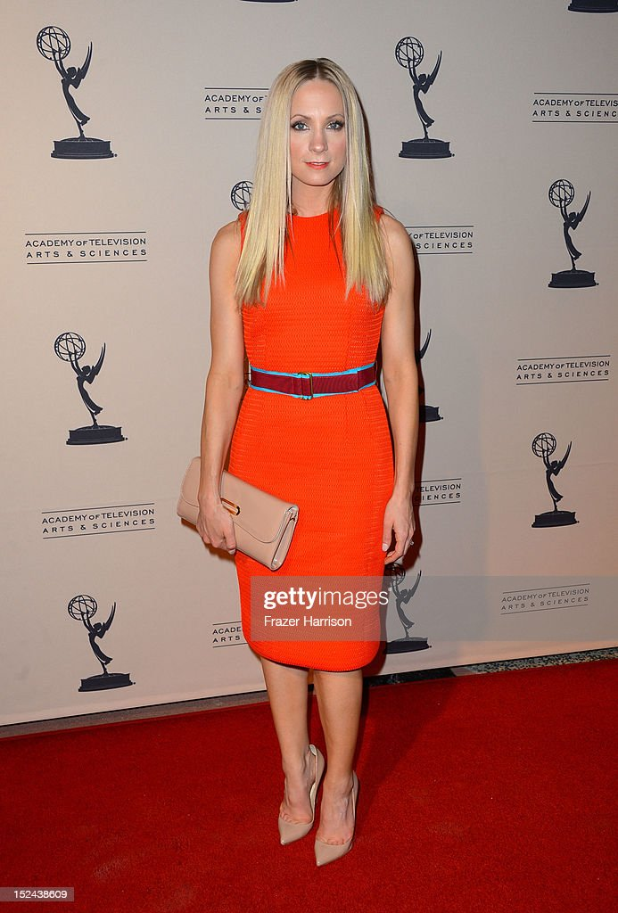 Actress Joanne Froggatt arrives at The Academy Of Television Arts & Sciences Writer Nominees' 64th Primetime Emmy Awards Reception at Academy of Television Arts & Sciences on September 20, 2012 in North Hollywood, California.