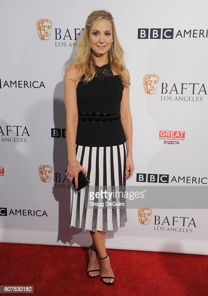 Actress Joanne Froggatt arrives at the BBC America BAFTA Los Angeles TV Tea Party at The London Hotel on September 17 2016 in West Hollywood...