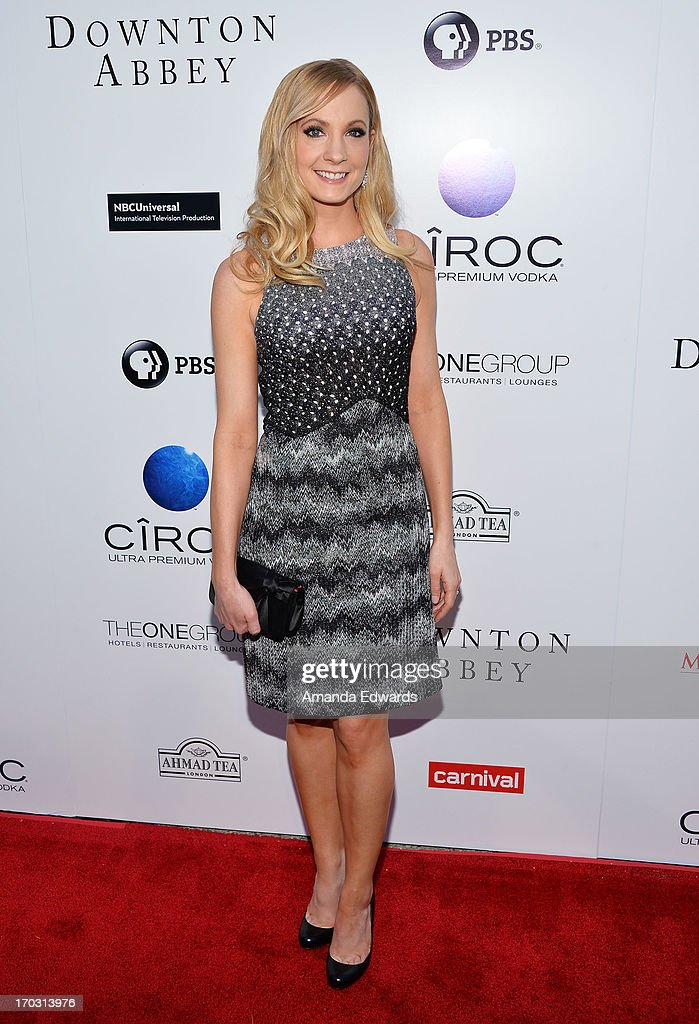 Actress <a gi-track='captionPersonalityLinkClicked' href=/galleries/search?phrase=Joanne+Froggatt&family=editorial&specificpeople=2364245 ng-click='$event.stopPropagation()'>Joanne Froggatt</a> arrives at the 'Downton Abbey' talent panel Q&A at the Leonard H. Goldenson Theatre on June 10, 2013 in North Hollywood, California.