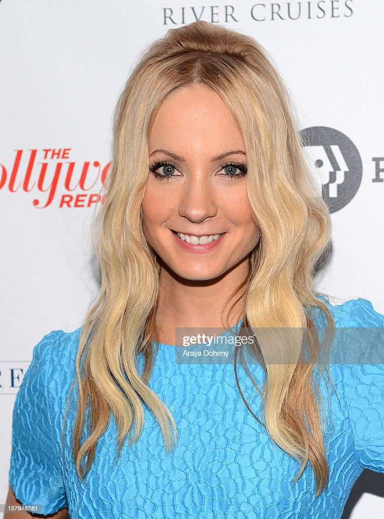 Actress Joanne Froggatt arrives at The Hollywood Reporter screening of PBS Masterpiece's 'Downton Abbey' Season 3 on December 7, 2012 in West Hollywood, California.