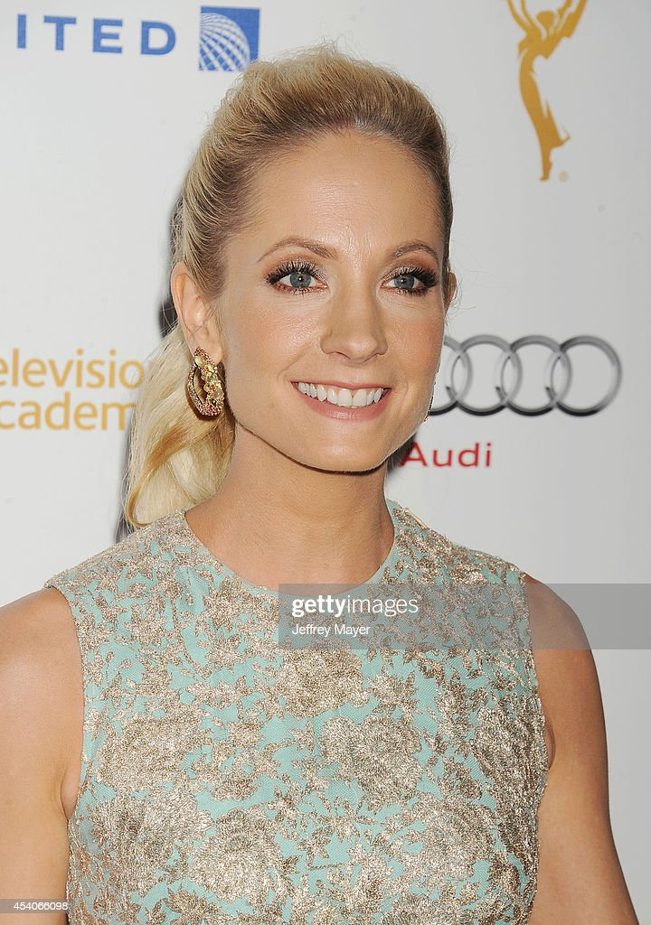 Actress <a gi-track='captionPersonalityLinkClicked' href=/galleries/search?phrase=Joanne+Froggatt&family=editorial&specificpeople=2364245 ng-click='$event.stopPropagation()'>Joanne Froggatt</a> arrives at the Television Academy's 66th Emmy Awards Performance Nominee Reception at the Pacific Design Center on Saturday, Aug. 23, 2014, in West Hollywood, California.