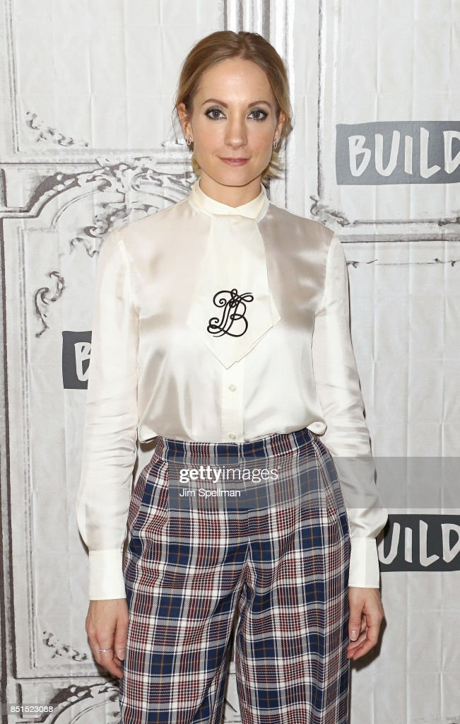 Actress Joanne Froggatt attends Build to discuss the six-part series 'Liar' at Build Studio on September 22, 2017 in New York City.