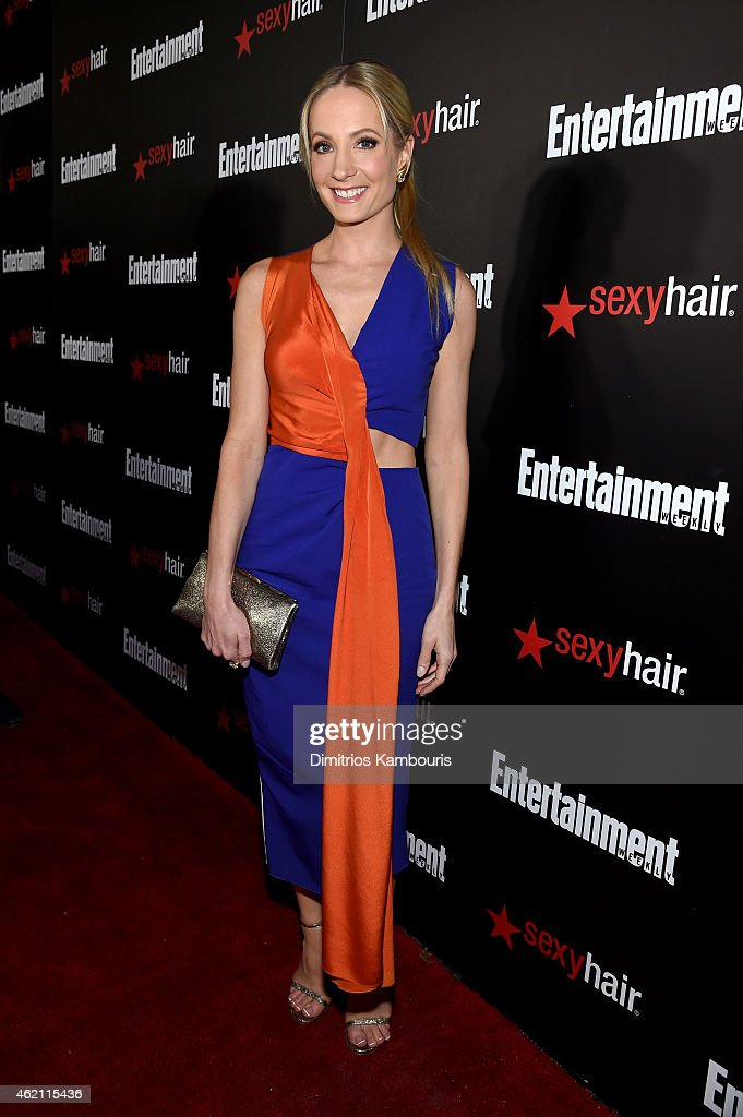 Actress <a gi-track='captionPersonalityLinkClicked' href=/galleries/search?phrase=Joanne+Froggatt&family=editorial&specificpeople=2364245 ng-click='$event.stopPropagation()'>Joanne Froggatt</a> attends Entertainment Weekly's celebration honoring the 2015 SAG awards nominees at Chateau Marmont on January 24, 2015 in Los Angeles, California.