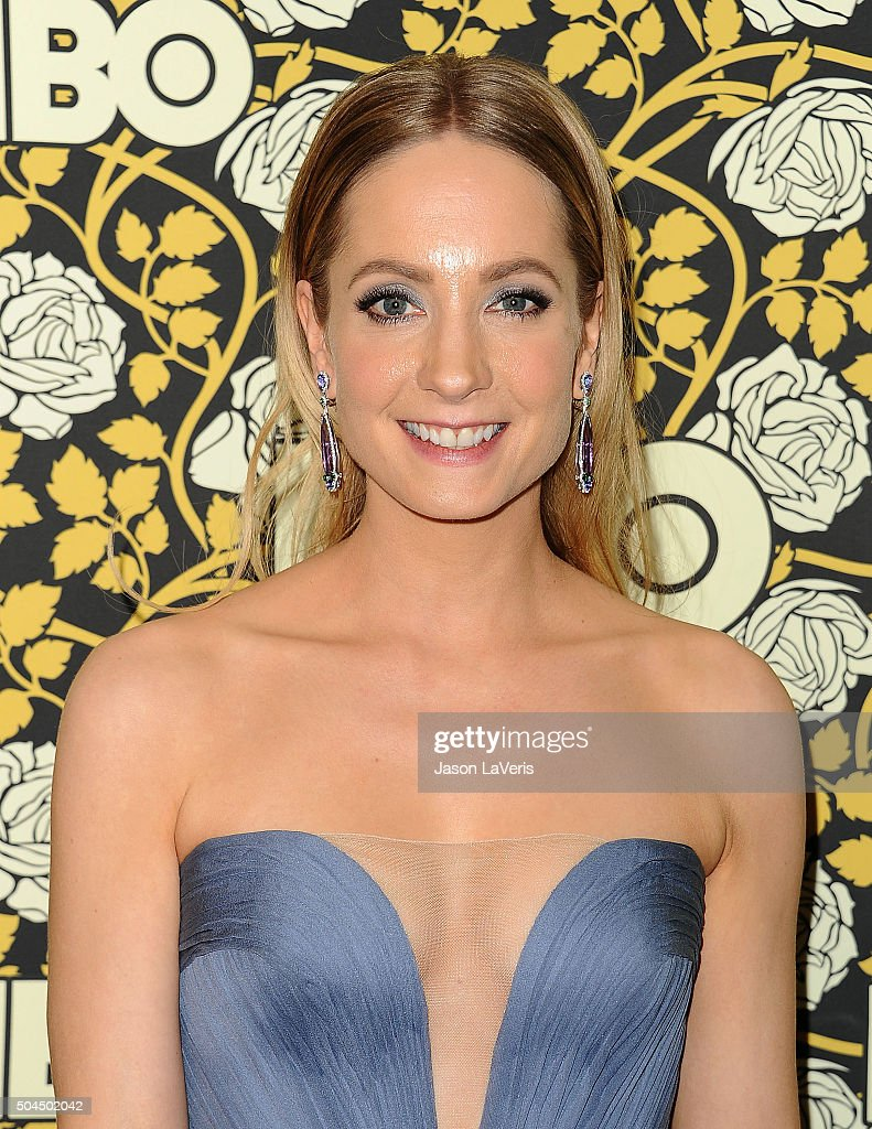 Actress Joanne Froggatt attends HBO's post 2016 Golden Globe Awards party at Circa 55 Restaurant on January 10 2016 in Los Angeles California