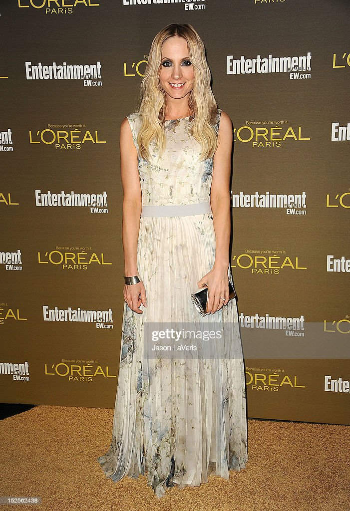 Actress Joanne Froggatt attends the 2012 Entertainment Weekly pre-Emmy party at Fig & Olive Melrose Place on September 21, 2012 in West Hollywood, California.