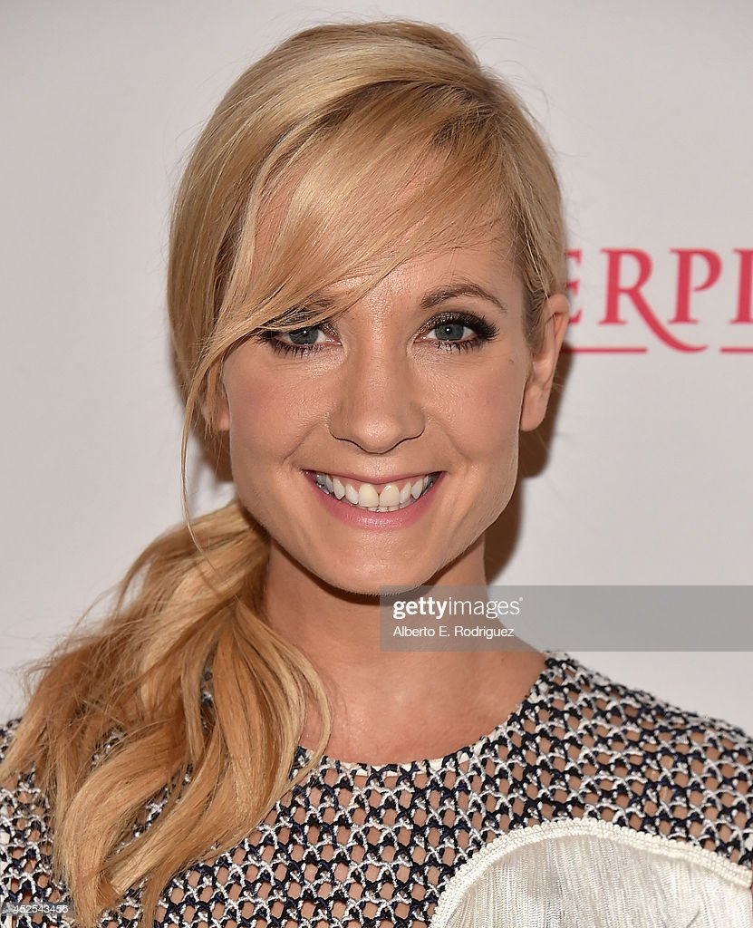 Actress <a gi-track='captionPersonalityLinkClicked' href=/galleries/search?phrase=Joanne+Froggatt&family=editorial&specificpeople=2364245 ng-click='$event.stopPropagation()'>Joanne Froggatt</a> (shoe detail) attends the 2014 Summer TCA Tour 'Downton Abbey' Season 5 photocall at The Beverly Hilton Hotel on July 22, 2014 in Beverly Hills, California.