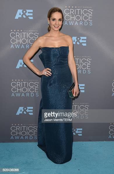 Actress Joanne Froggatt attends the 21st Annual Critics' Choice Awards at Barker Hangar on January 17 2016 in Santa Monica California
