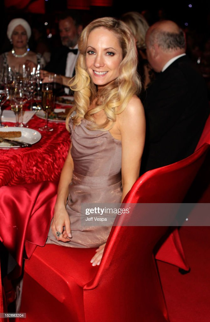 Actress <a gi-track='captionPersonalityLinkClicked' href=/galleries/search?phrase=Joanne+Froggatt&family=editorial&specificpeople=2364245 ng-click='$event.stopPropagation()'>Joanne Froggatt</a> attends the 64th Primetime Emmy Awards Governors Ball at Los Angeles Convention Center on September 23, 2012 in Los Angeles, California.