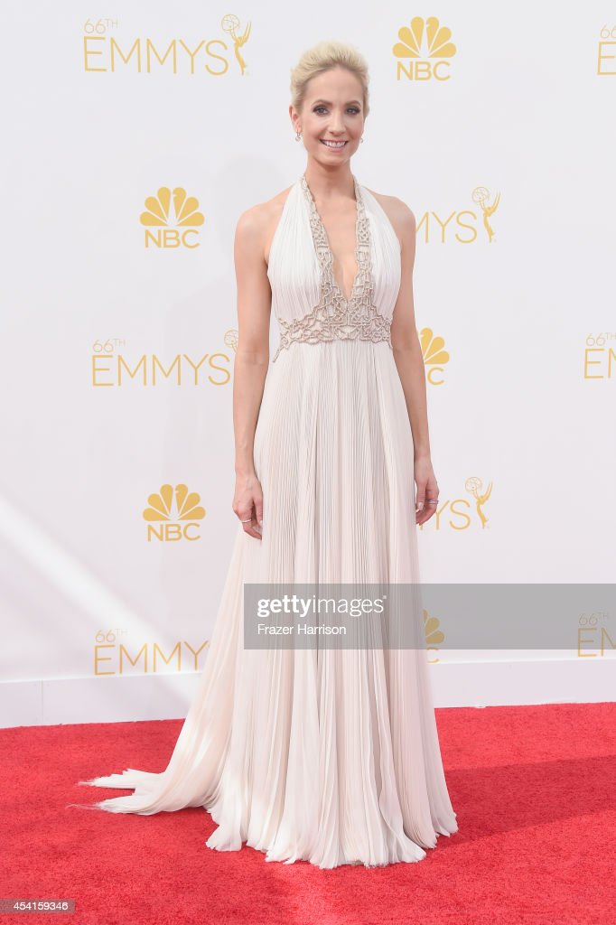 Actress Joanne Froggatt attends the 66th Annual Primetime Emmy Awards held at Nokia Theatre LA Live on August 25 2014 in Los Angeles California