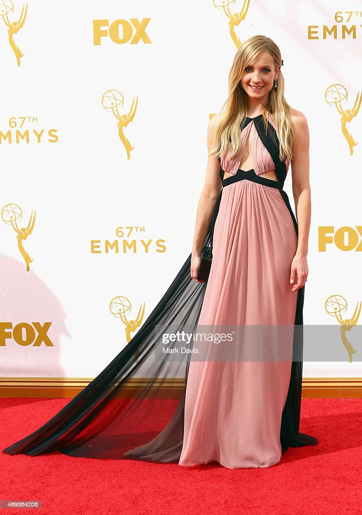 Actress Joanne Froggatt attends the 67th Annual Primetime Emmy Awards at Microsoft Theater on September 20 2015 in Los Angeles California