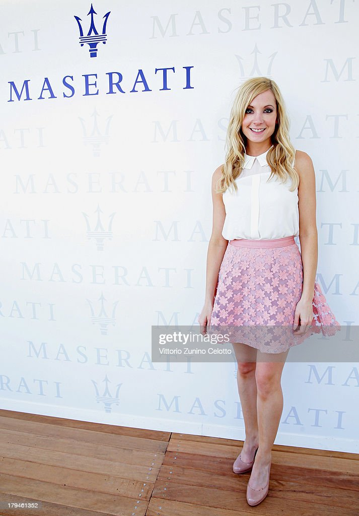 Actress <a gi-track='captionPersonalityLinkClicked' href=/galleries/search?phrase=Joanne+Froggatt&family=editorial&specificpeople=2364245 ng-click='$event.stopPropagation()'>Joanne Froggatt</a> attends the 70th Venice International Film Festival at Terrazza Maserati on September 4, 2013 in Venice, Italy.