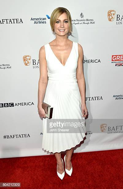 Actress Joanne Froggatt attends the BAFTA Awards Season Tea Party at Four Seasons Hotel Los Angeles at Beverly Hills on January 9 2016 in Los Angeles...