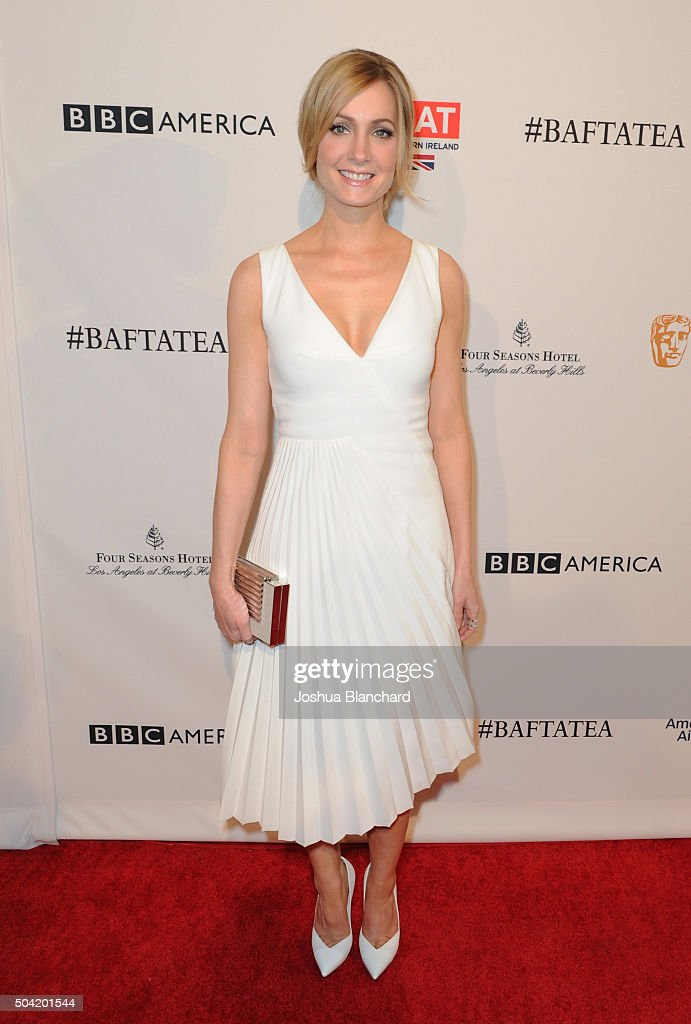 Actress Joanne Froggatt attends the BAFTA Los Angeles Awards Season Tea at Four Seasons Hotel Los Angeles at Beverly Hills on January 9 2016 in Los...