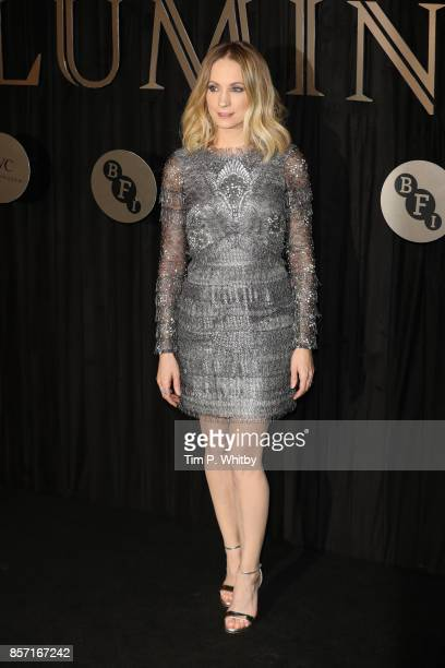 Actress Joanne Froggatt attends the BFI Luminous Fundraising Gala at The Guildhall on October 3 2017 in London England