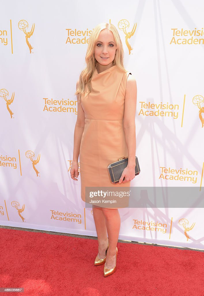 Actress <a gi-track='captionPersonalityLinkClicked' href=/galleries/search?phrase=Joanne+Froggatt&family=editorial&specificpeople=2364245 ng-click='$event.stopPropagation()'>Joanne Froggatt</a> attends The Television Academy Presents An Afternoon with 'Downton Abbey' at Paramount Studios on May 3, 2014 in Hollywood, California.