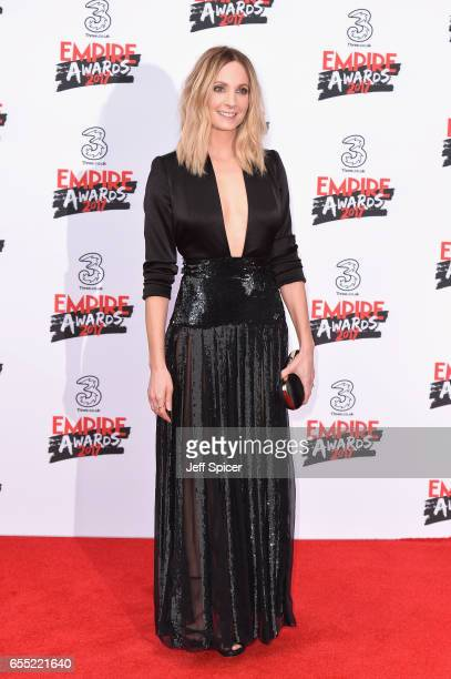 Actress Joanne Froggatt attends the THREE Empire awards at The Roundhouse on March 19 2017 in London England