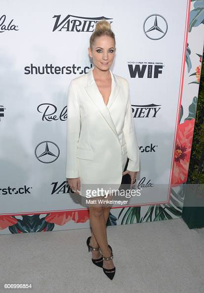 Actress Joanne Froggatt attends Variety and Women in Film's PreEmmy Celebration at Gracias Madre on September 16 2016 in West Hollywood California